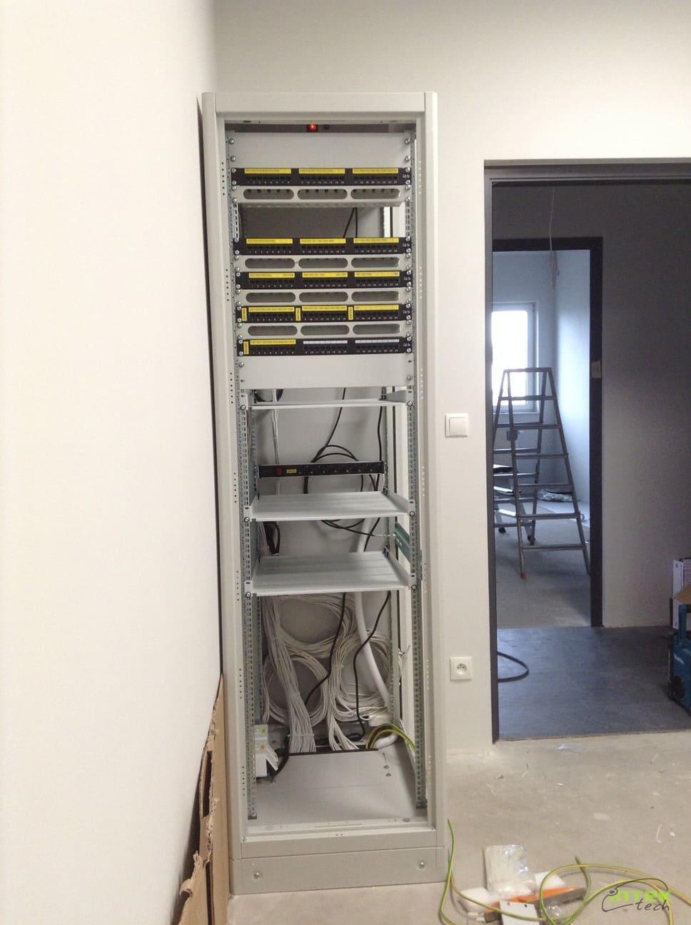 instalacja teletechniczna - montaż